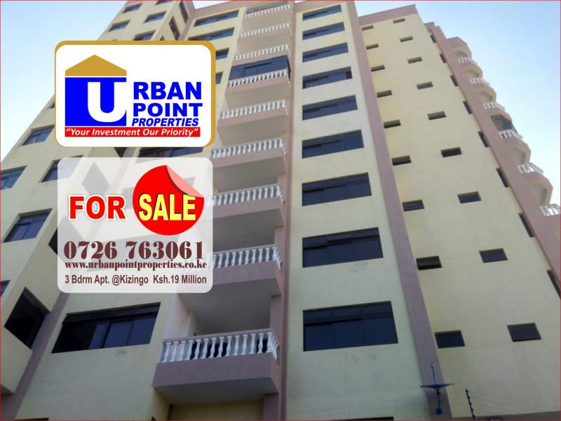 For Sale: 3 Bedroom Apartments